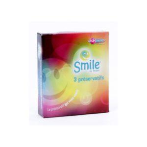 Boîte de 3 préservatifs Smile